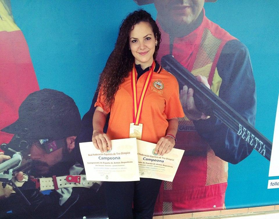 La eldense Alicia Olivares, doble campeona de España