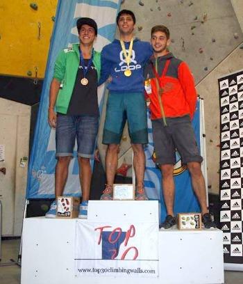 El escalador eldense Jonathan Flor Vázquez se proclama de nuevo campeón de España de escalada de dificultad