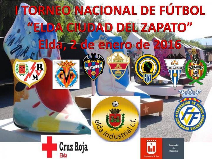 EL ELDA INDUSTRIAL ORGANIZA EL I TORNEO NACIONAL DE FÚTBOL 8 ELDA-CIUDAD DEL ZAPATO