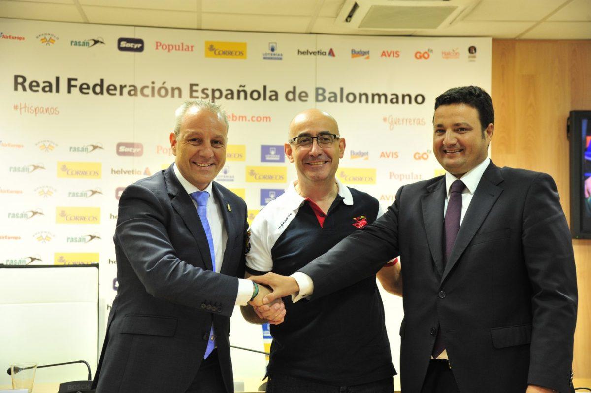 Jordi Ribera, presentado como nuevo seleccionador de los 'Hispanos'