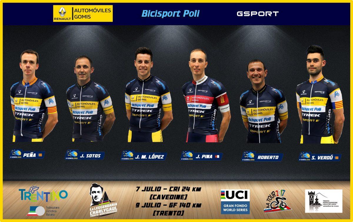 El equipo Automóviles Gomis – Bicisport Poli – Gsport viajará a Italia buscando clasificarse para el Campeonato del Mundo