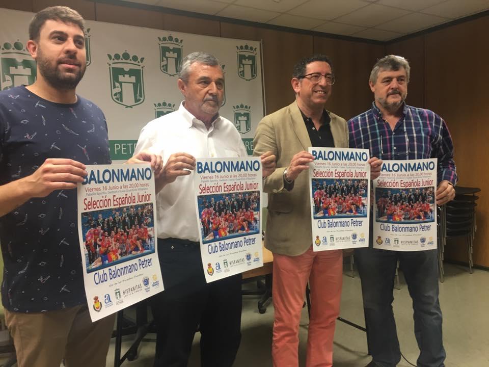 LOS #HISPANOSJUNIORS ENTRENARÁN EN PETRER Y JUGARÁN ANTE EL CBM HISPANITAS