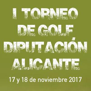 I Torneo de Golf Diputación de Alicante 2