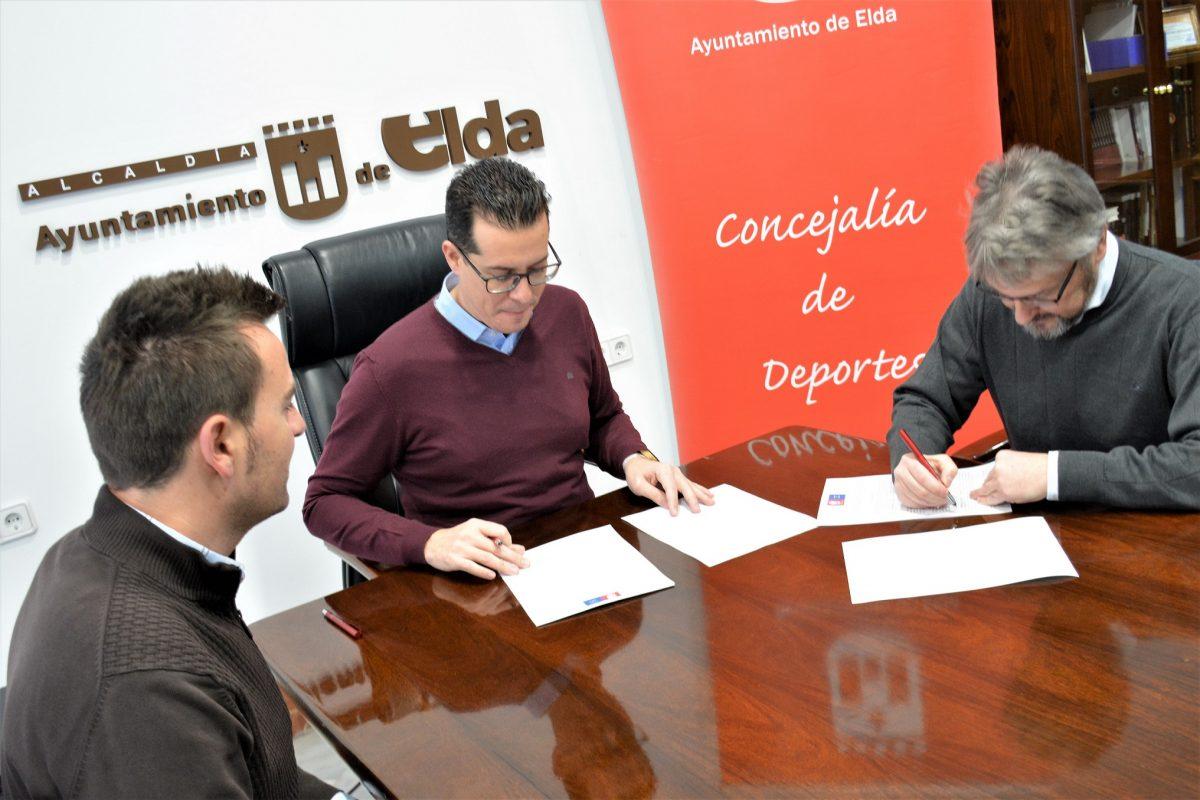 EL CEE RUBRICA UN CONVENIO CON EL AYUNTAMIENTO DE ELDA QUE LE REPORTARÁ 20000 EUROS