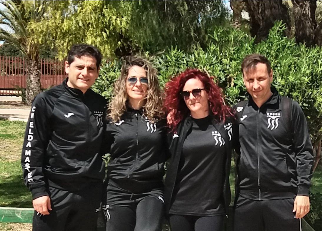 LOS NADADORES DEL CLUB NATACION ELDA MASTER TIENEN UNA BUENA ACTUACION EN EL I TROFEO CIUDAD DE ELCHE