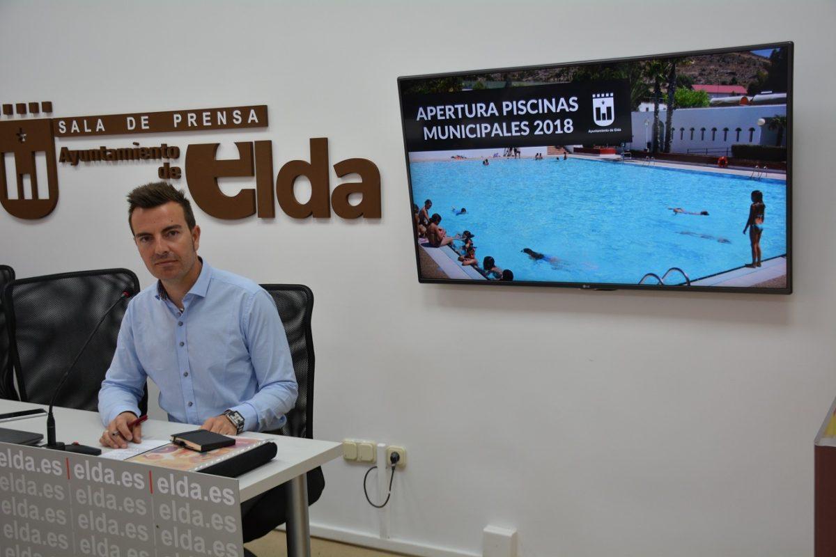 Este sábado se abren las piscinas municipales de San Crispín en las que trabajarán 56 personas durante el verano